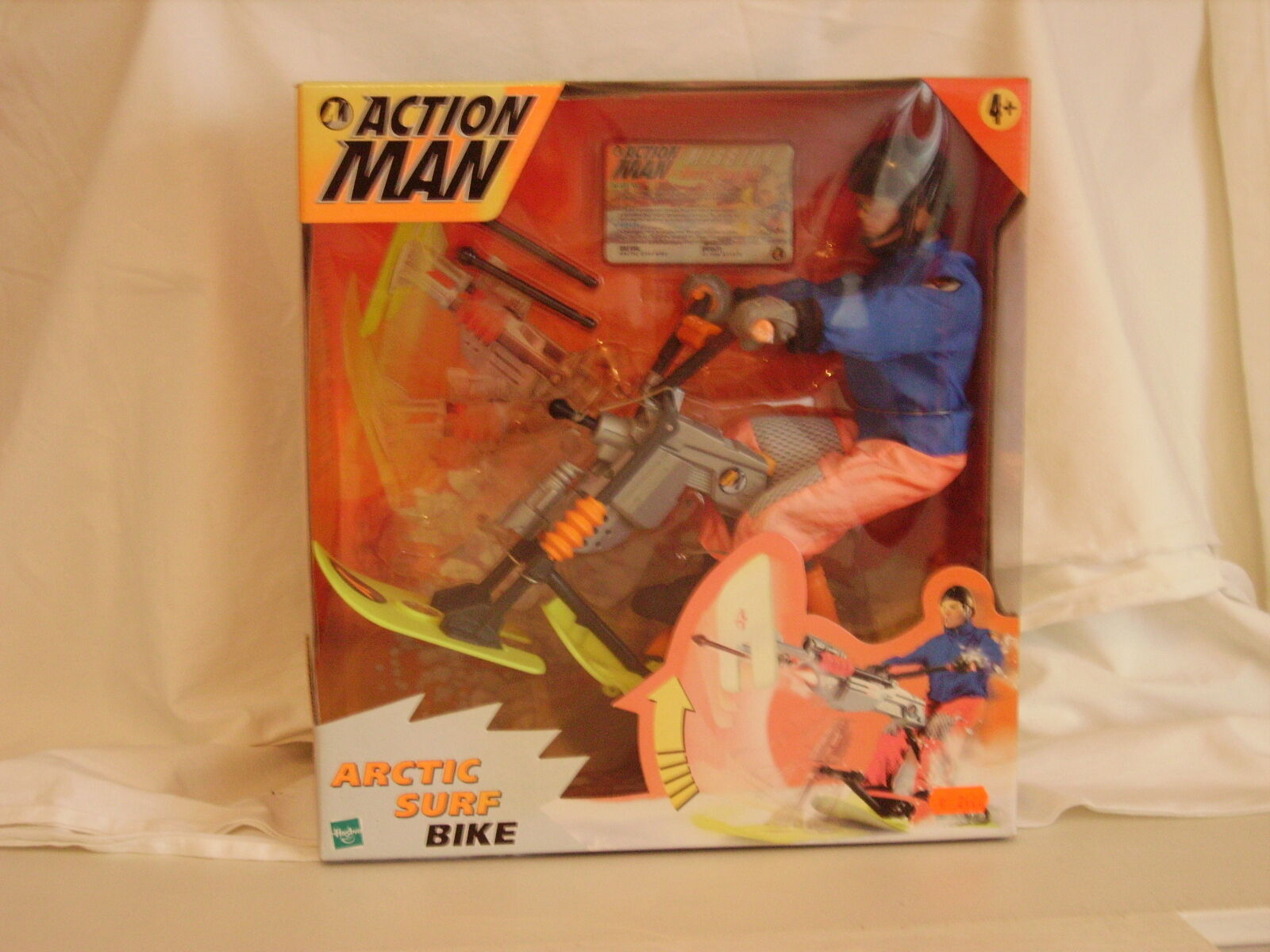 Hasbro.action - man - arktis - surf - fahrrad
