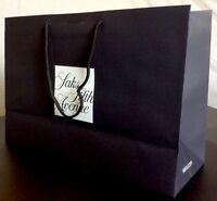10 Authentic Saks Fifth Avenue Handle Gift Bags Large 17x11.5x6 Ribbon Slot