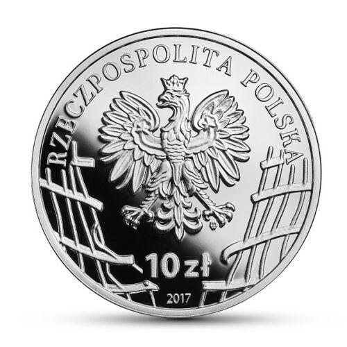 "Poland 2017 10 zl Silver Coin The Enduring Soldiers Danuta Siedzikówna ""Inka"""