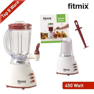 fitmix mixer 450 w rot b ware smoothie maker zapfhahn standmixer mediashop. Black Bedroom Furniture Sets. Home Design Ideas
