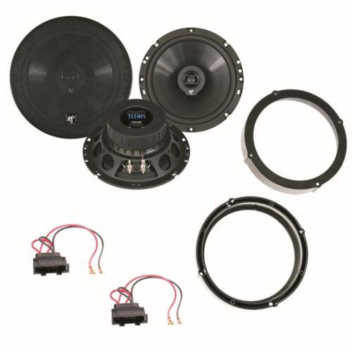HIFONICS TITAN TS-62 16,5 cm Lautsprecher Einbauset für Polo 9N Polo 9N3 Lupo Ar