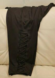 515089889a0c3 NWT Women's Plus MTA ATHLETIC Sport Leggings PANTS Sz 3X BLACK PANTS ...