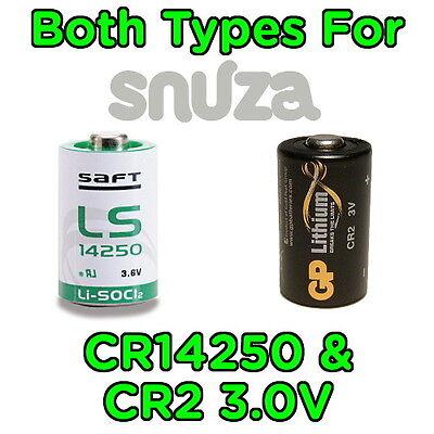 Spare Battery for Snuza Hero, Halo, Go Baby Movement Breathing Monitor inc SE MD