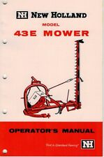 holland 499 mower conditioner operators manual ebay rh ebay co uk 499 New Holland Drive Sycle new holland 499 service manual