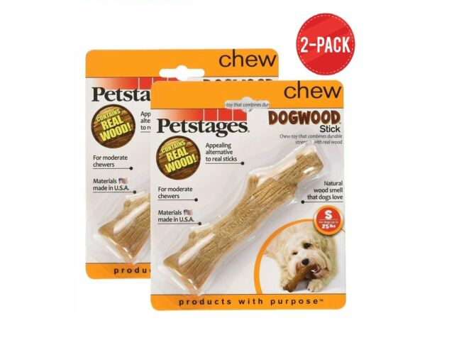 Dogwood Durable Real Wood Dog Chew Toy for Small Dogs Safe and Durable Chew Toy