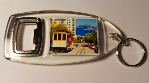 San Francisco Trolley Bus Tram Keyring Bottle Opener Birthday Gift