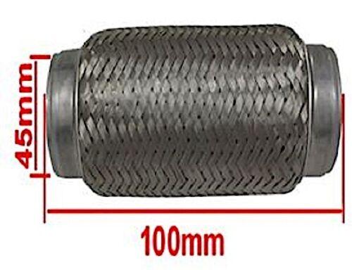 45 x 100 mm flessibile Flexstück Flessibile Connettore per sistema di scarico pezzo dei pantaloni