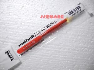 Red 5 x Uni-Ball Signo UM-153 1.0mm Broad Rollerball pens