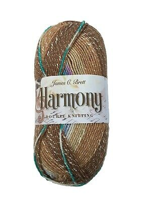 Harmony DK self patterning yarn-100g ball from James C Brett