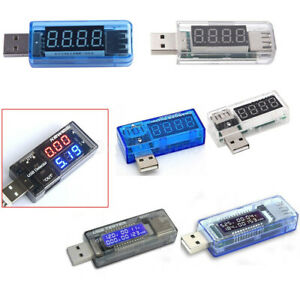 USB-Ladegerät Arzt Spannungsmesser Ampere Volt Amperemeter Tester Detektor