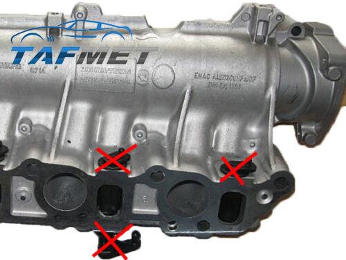 15 mm Swirl Flap Removal Delete Kit for Fiat Alfa Romeo Lancia 2.4 20V JTD JTDM