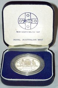 1987-10-New-South-Wales-Australia-State-Series-SILVER-PROOF-with-COA-and-case