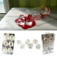 1 Jewel Ice Tray Silicone Mold Diamond Ice Cubes Candy Chocolate Diy Soap