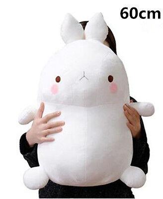 10'' White Molang Rabbit Plush Stuffed Doll 24cm Kids Toy Soft Cushion Xmas Gift
