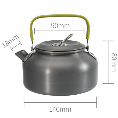 Portable Coffee Pot Water Kettle Teapot Outdoor Camping Hiking Survival Cookware