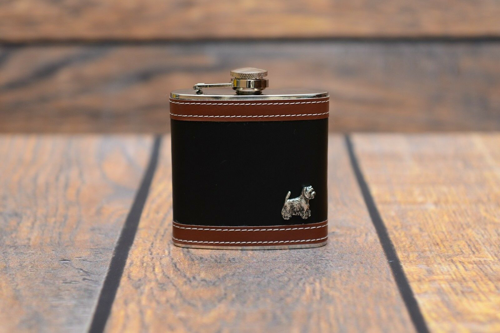 West Highland Weiß Terrier - flask with with with image of a dog high quality Art Dog a2cef7