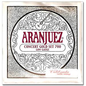 Aranjuez classical guitar strings Concert Gold set Low Gauge 700