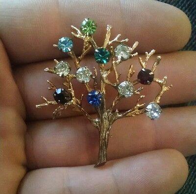 Vintage Tree of Life Brooch