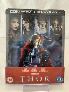 Thor-4K-TB-Blu-ray-Steelbook-Zavvi-Nuevo-Sellado-Agotado-fuera-de-produccion