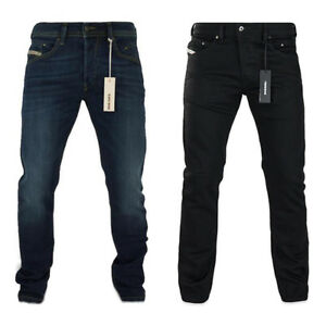 diesel jeans diesel belther 814w slim straight denim jean and