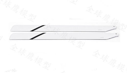Free shipping GT 325mm Fiber Glass Main Blades For Align Trex 450 RC Heli