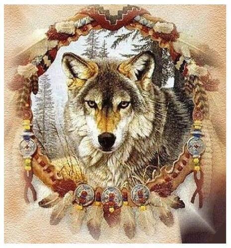 Wolf # 10-8 x 10 Tee Shirt Iron On Transfer