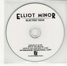 (GO301) Elliot Minor, Electric High - 2009 DJ CD