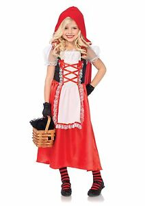 Cute Adorable Little Red Riding Hood Fairy Tales Girls Child