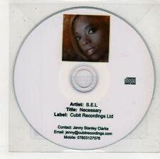 (GU582) S.E.L., Necessary - 2010 DJ CD