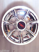 (4) Golf Cart Hub Cap Wheel Cover - 7 Spoke Trd Chrome Hub Caps For Ezgo/yamaha