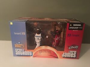 McFarlane NBA Sports Picks Carmelo Anthony /& Lebron James 2 Pack Box Set