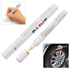 stylo pneu Marqueur Blanc peinture pour voiture auto moto métal roue jantes alu