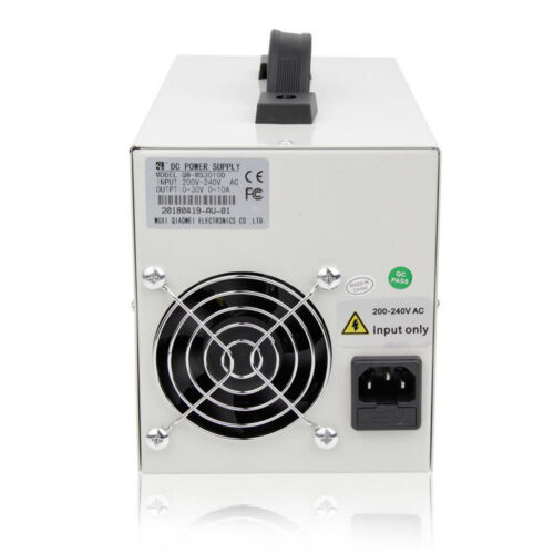 30 V 5A//10A Réglable DC Power Supply Dual Digital Lab Test 110 V 60HZ//220V 50 Hz