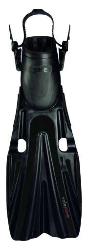 schwarz Mares Volo Power Geräteflossen mit Fersenband