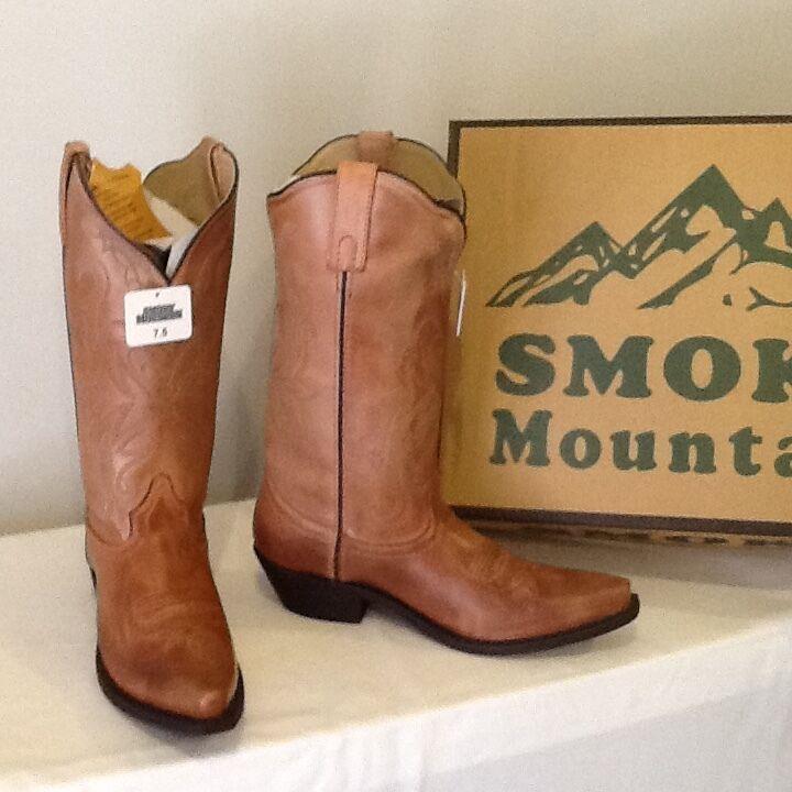 Smoky Mountain Boots Womens 7.5  Leather- Western- NIB