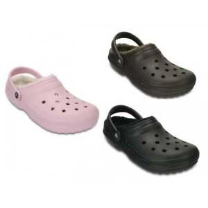739abd3a5e6d Das Bild wird geladen Crocs-Classic-gefuettert-Unisex-Schuhe-Clogs -alle-Groessen