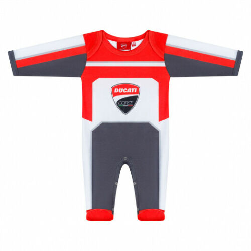 2019 Ducati Corse Racing MotoGP Baby Grow Bodysuit Sleepsuit Sizes 56-92cm