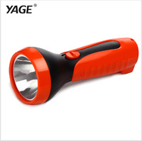 2016 Tazer Yage-3738 Led Flashlight Rechargable Torch Built-in Battery Light