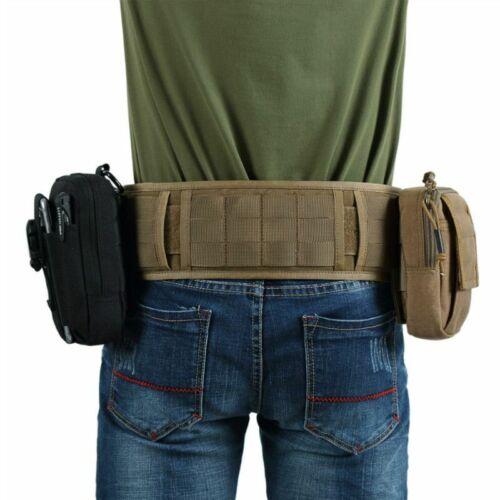 OneTigris Tactical Hunting Molle Battle Belt Military Combat Padded Patrol Belt
