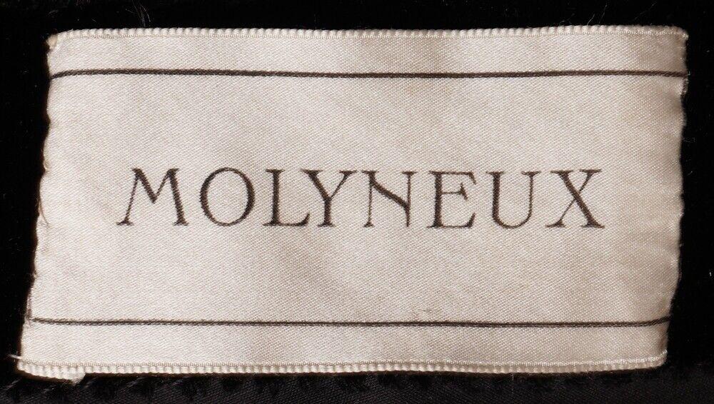 Vintage Molyneux Black Velvet Evening Gown 1930s … - image 3