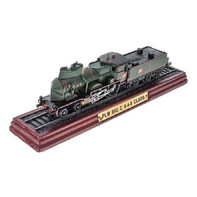 PLM BIG C 4-4-0 CLASS 1:100 Ferrocarril Locomotora Atlas Modelo estático