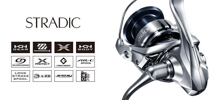 Neue SHIMANO 19 STRDIC 1000S C2000S C200SHG 2500S 2500SHG C3000 Spinning Reel