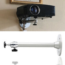 Universal 21.5cm Projector Ceiling Wall Mount Bracket 5kg Capacity Aluminium
