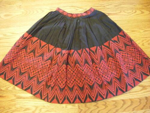 Mayan Modern Purple Pink /& White Handwoven Guatemalan Wrap Skirt 100/% Cotton Large Woven Skirt Size 16