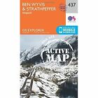 Ben Wyvis and Strathpeffer by Ordnance Survey (Sheet map, folded, 2015)
