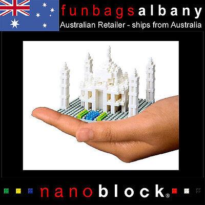 Nanoblock Taj Mahal Sights To See Series Tajmahal Agra India micro nano Blocks