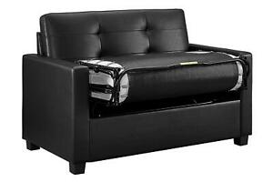 Convertible Sofa Twin Size Tufted