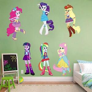 Image Is Loading My Little Pony Equestria Girls Decal Removable Wall  Part 73