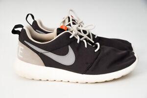 Nike-Womens-Roshe-One-Retro-Lifestyle-Running-Shoes-US-10-Black-Wolf-Grey-Sail