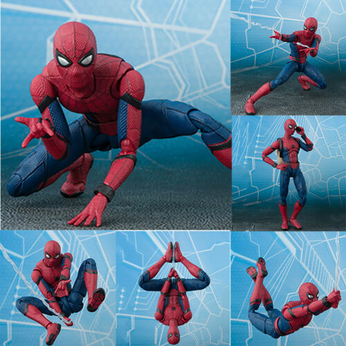 Spider-Man Homecoming Spiderman Superheld PVC Actionfigur Modell 2020 DE KIDS